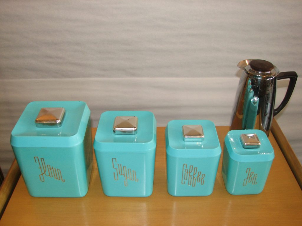 Retro Kitchen Canisters Teal Kitchen Canister Sets Laptoptabletsus
