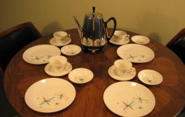 50's-60's plate set 16 pc (2)