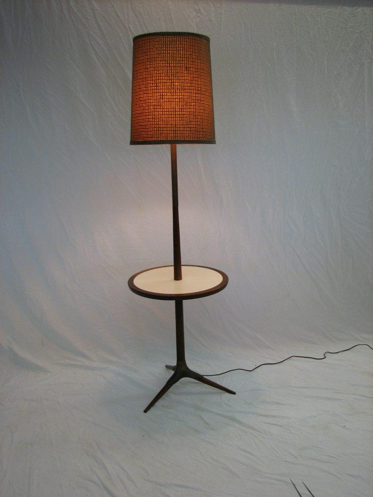 mid century modern floor lamp table set. Black Bedroom Furniture Sets. Home Design Ideas